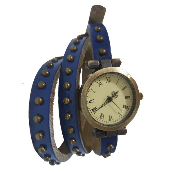 Blue Stud Watch