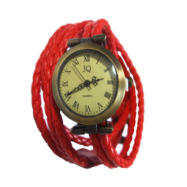 Be Bold Red Vinatge Watch