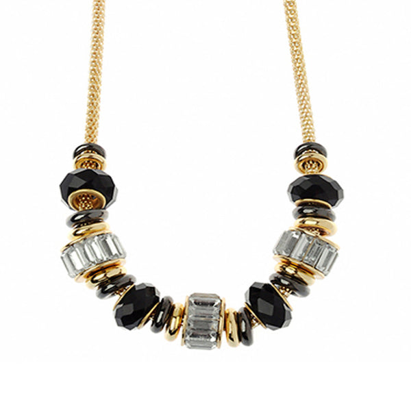 Classic Black & Gold Necklace