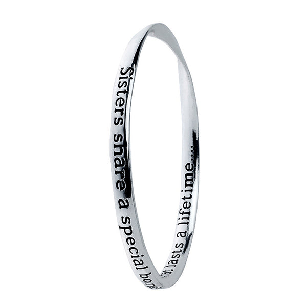 Sisters Poetry Collection Bangle