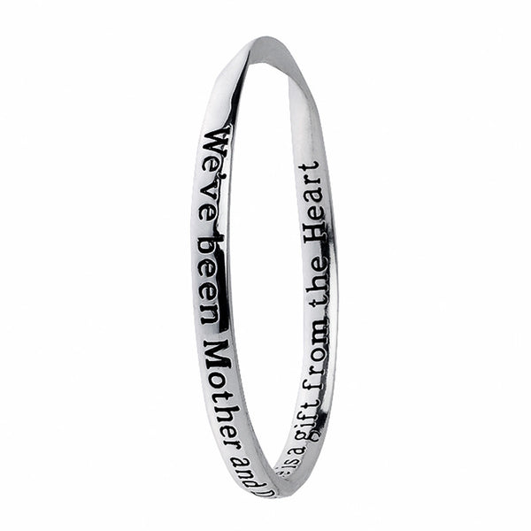 Mother-Daughter Poetry Collection Bangle
