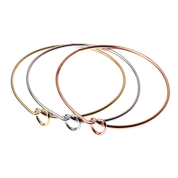 Knot Bangles - Set of 3