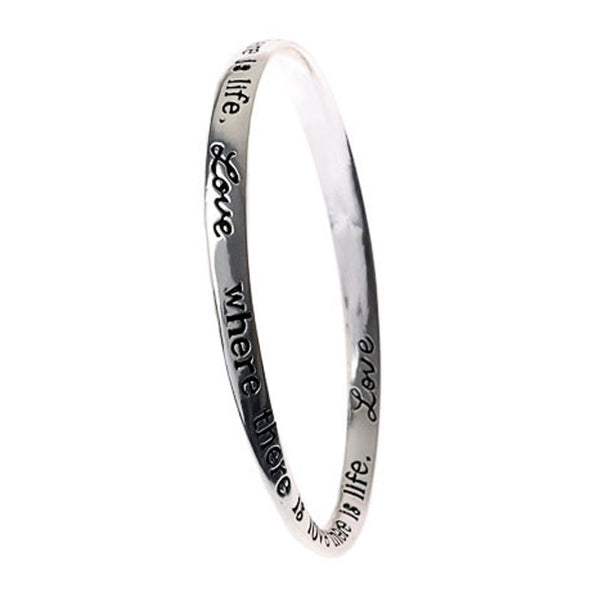 Love by Marilyn Monroe Poetry Collection Bangle
