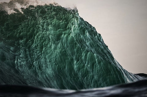 Wave wall by Lloyd Meudell