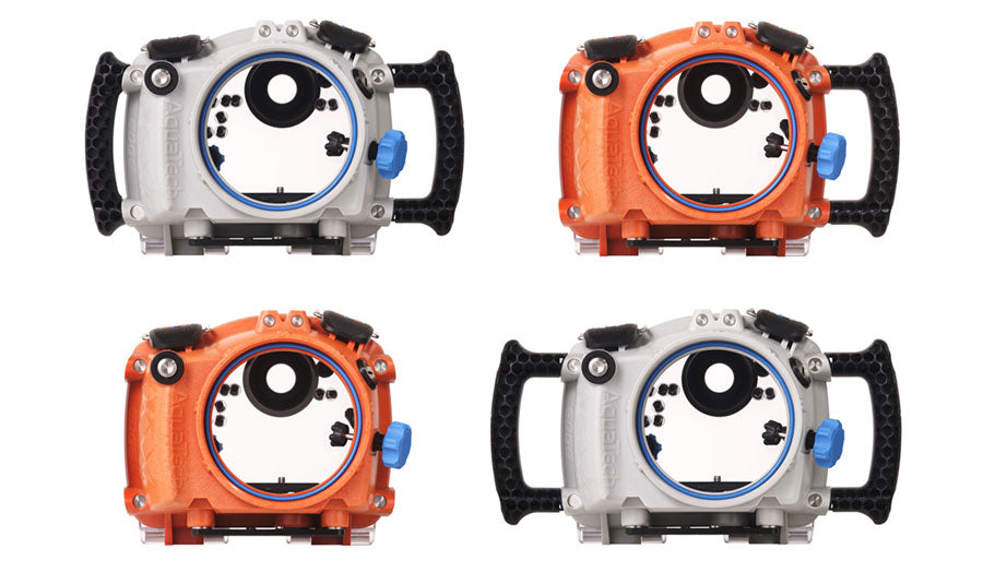 aquatech edge water housing for underwater photography