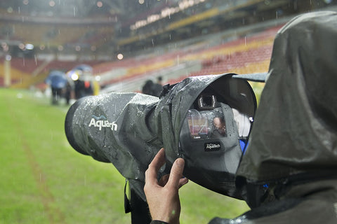 AquaTech eyepiece at a sporting event