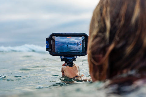axisgo waterproof iphone case stay in control