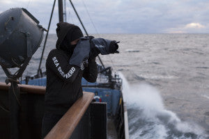 AquaTech being used on the Sea Shepherd flagship