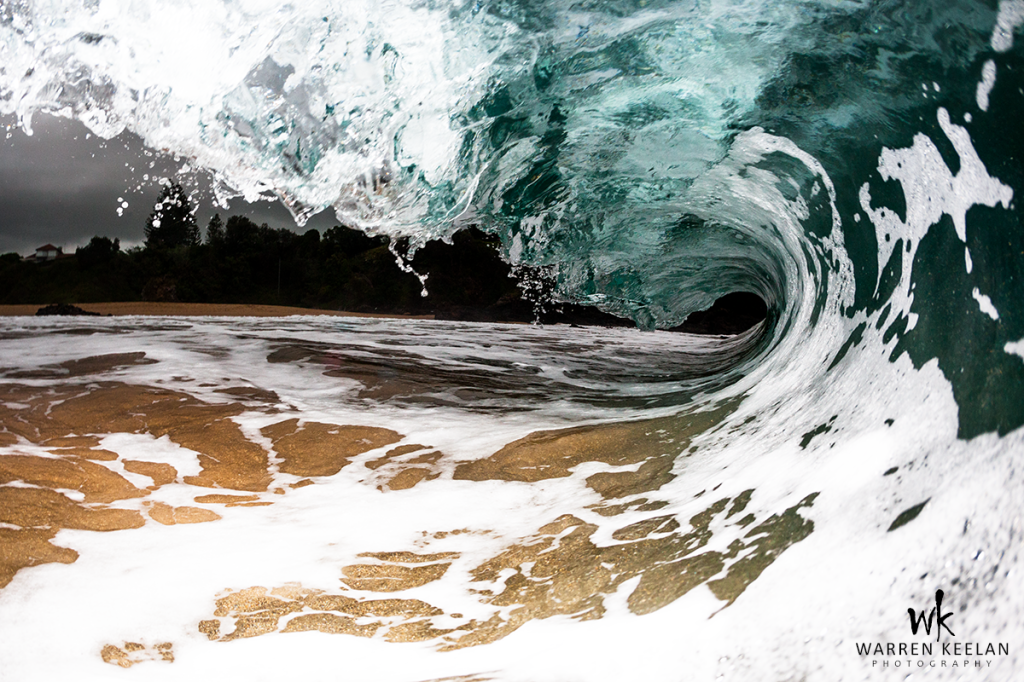 Night Marble wave photo by Warren Keelan