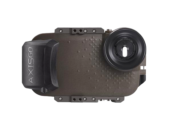 AxisGO 8+ Water Housing for iPhone 7 Plus / iPhone 8 Plus Tactical Green <br> OPEN BOX