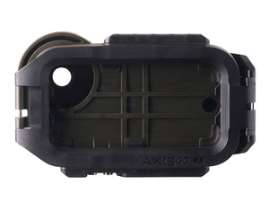 AxisGo Green Underwater iPhone Housing rear view