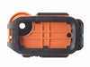 AxisGo Orange Underwater iPhone Housing rear view