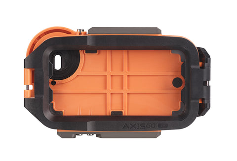 AxisGO 7+ Water Housing for iPhone 7 PLUS Sunset Orange