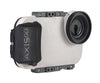 White AxisGo water housing for iPhone