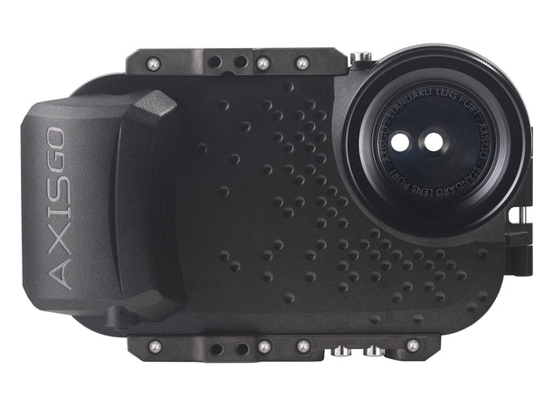 AxisGO water housing for iPhone X in Moment Black
