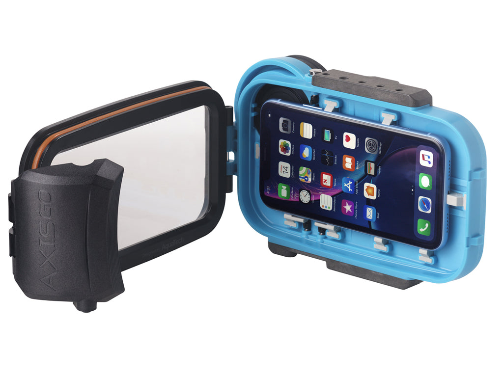 Axisgo Water Housing For Iphone Xs Max Xr Moment Black Aquatech Aquatech Imaging Solutions