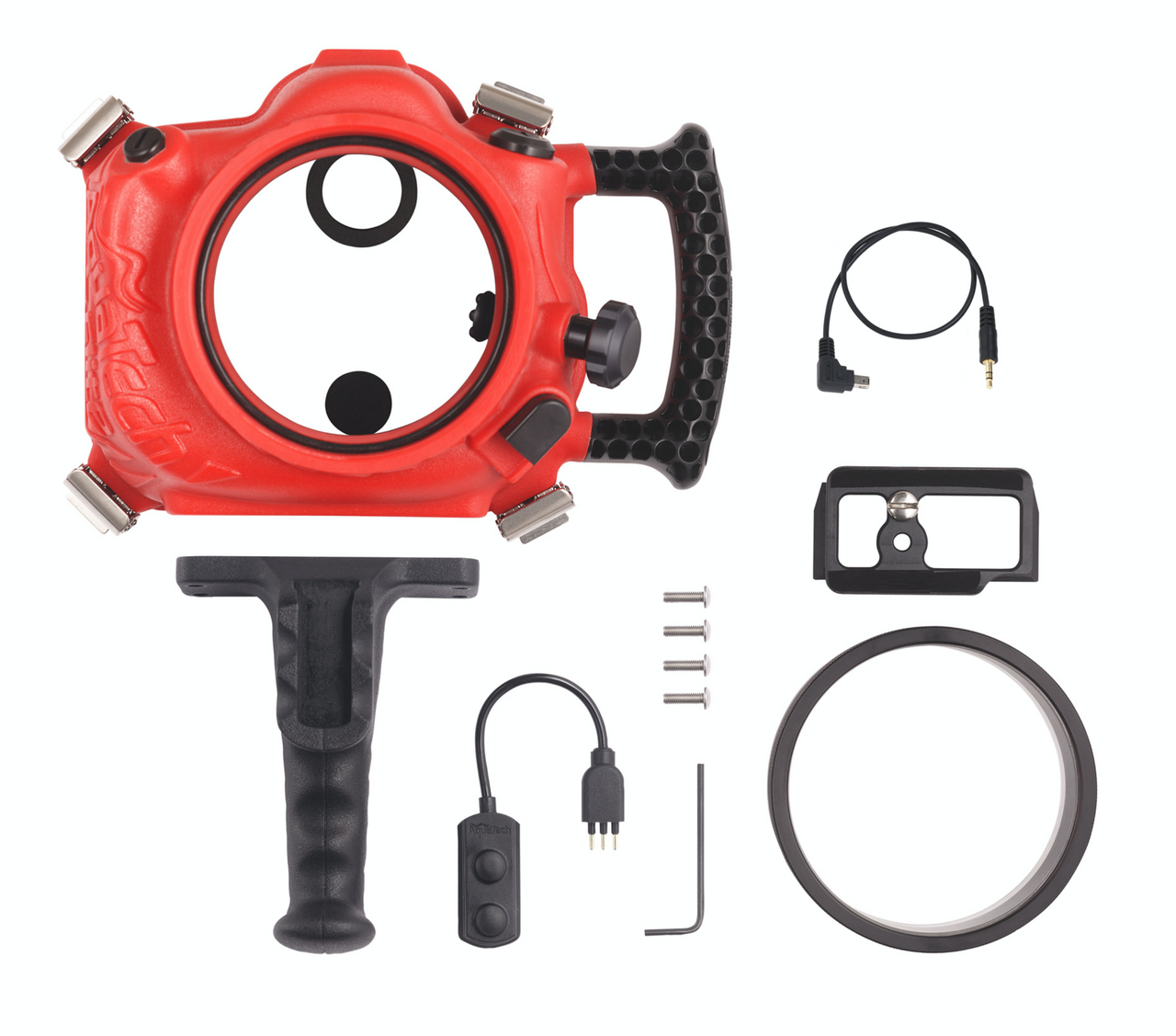 Base D750 Sport Housing for Nikon D750 <br> Clearance Category-Second [Red]