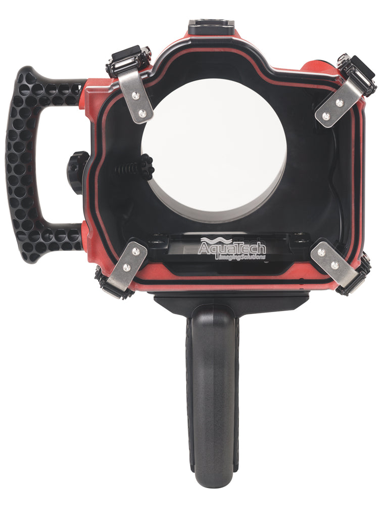 AquaTech Cable Release and Camera Plate Kit for Canon EOS 6D in Base Housing