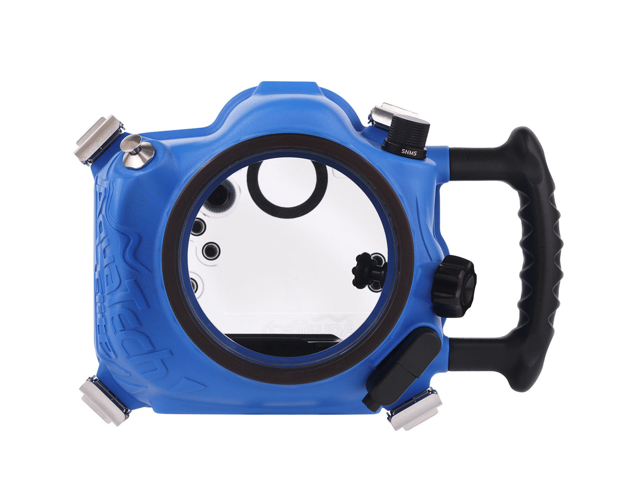 Elite 7D2 Canon Water Housing product shot front view