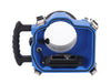 Elite 5D4 Canon Camera Water Housing back view with no brackets