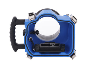 Elite 7D2 Canon Water Housing product shot rear view
