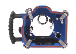Elite 7D2 Canon Water Housing back view