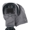 SSRC XLARGE - Camera Rain Cover with flaps open