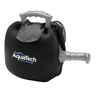 AquaTech Water Housing Cover holding a water housing with pistol grip