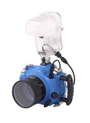 Strike 580EXII Flash Housing with camera water housing