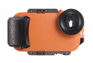 AxisGO 8+ Water Housing for iPhone 7 Plus / iPhone 8 Plus Sunset Orange