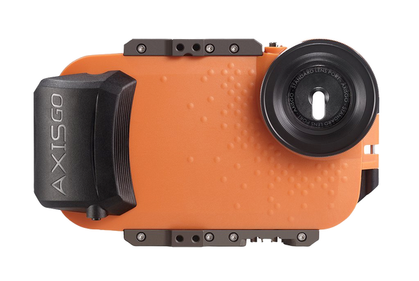 AxisGO 7+ Water Housing for iPhone 7 Plus / iPhone 8 Plus Sunset Orange