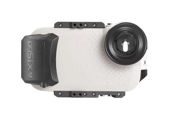 nice shoes f82ae afa26 AxisGO Water Housing for iPhone 7 & 8 PLUS - Seashell White | AquaTech
