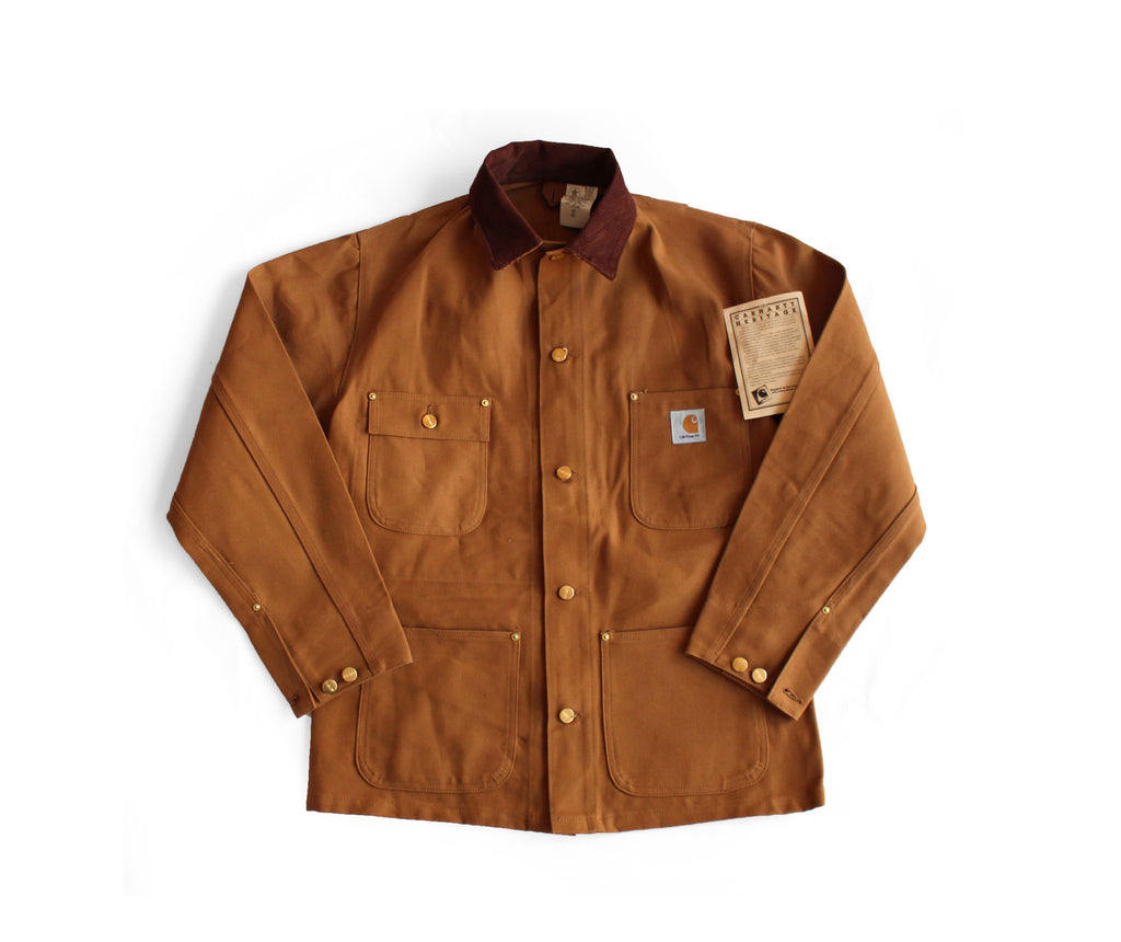 Deadstock Carhartt Brown Duck Chore Coat