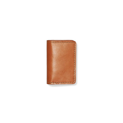 Filson Bridle Leather Card Case - Hilton's Tent City