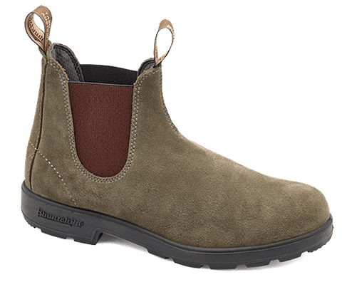 Blundstone Women's Suede Boots, Olive (#1459) - Hilton's Tent City