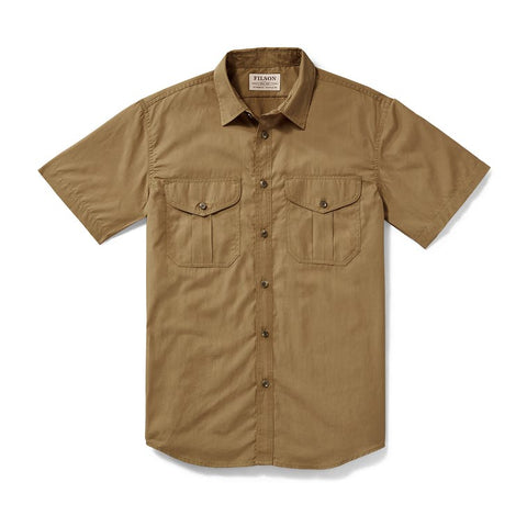 Filson Feather Cloth Short Sleeve Shirt
