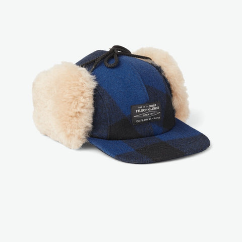 Filson Cobalt Blue Double Mackinaw Wool Hat