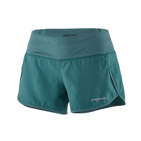"Patagonia Women's Strider Running Shorts 3 1/2"" - Hilton's Tent City"