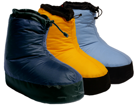 Western Mountaineering Standard Down Booties - Hilton's Tent City