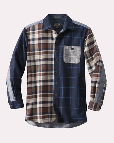 Pendleton Wool/Denim Mix-It-Up Shirt - Hilton's Tent City