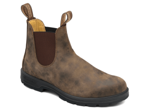Blundstone Super Boots, Rustic Brown (#585)