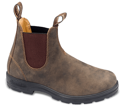 Blundstone Women's Super 550 Boots, Rustic Brown #585 - Hilton's Tent City