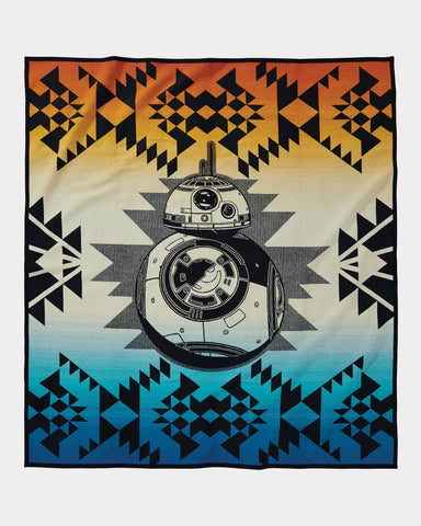 Pendleton Star Wars The Force Awakens BB-8 Blanket - Hilton's Tent City