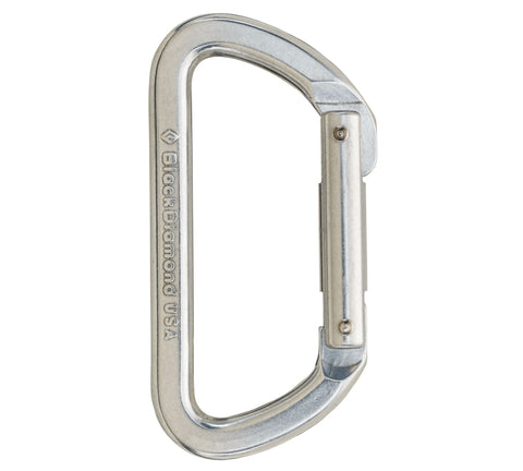 Black Diamond Light D Carabiner - Hilton's Tent City