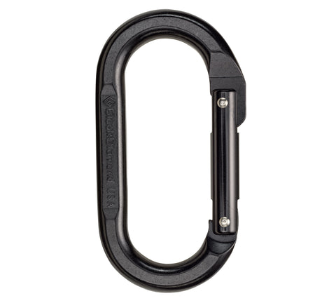 Black Diamond Oval Carabiner - Hilton's Tent City