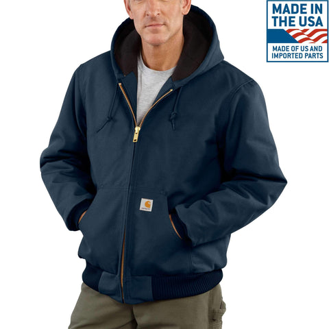 Carhartt Duck Active Jac/ Quilted-Flannel Lined #J140 - Hilton's Tent City
