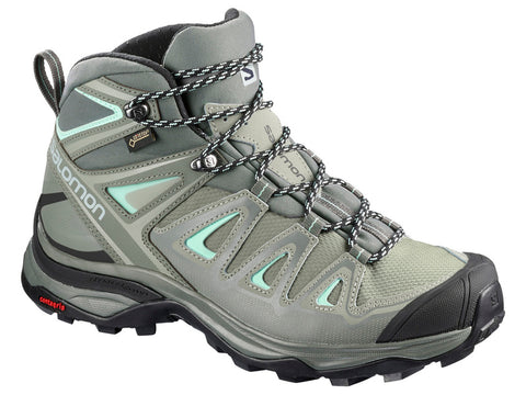Salomon Women's Ultra Mid 3 GTX Hiking Boots - Hilton's Tent City