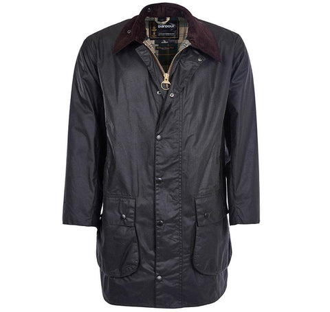 Barbour Classic Border Wax Jacket - Hilton's Tent City