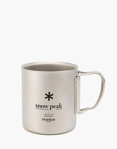 Snow Peak Ti-Double 450 Mug - Hilton's Tent City