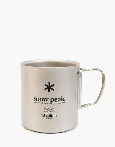 Snow Peak Ti-Double 600 Mug - Hilton's Tent City